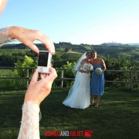 just-married-with-san-gimignano-view