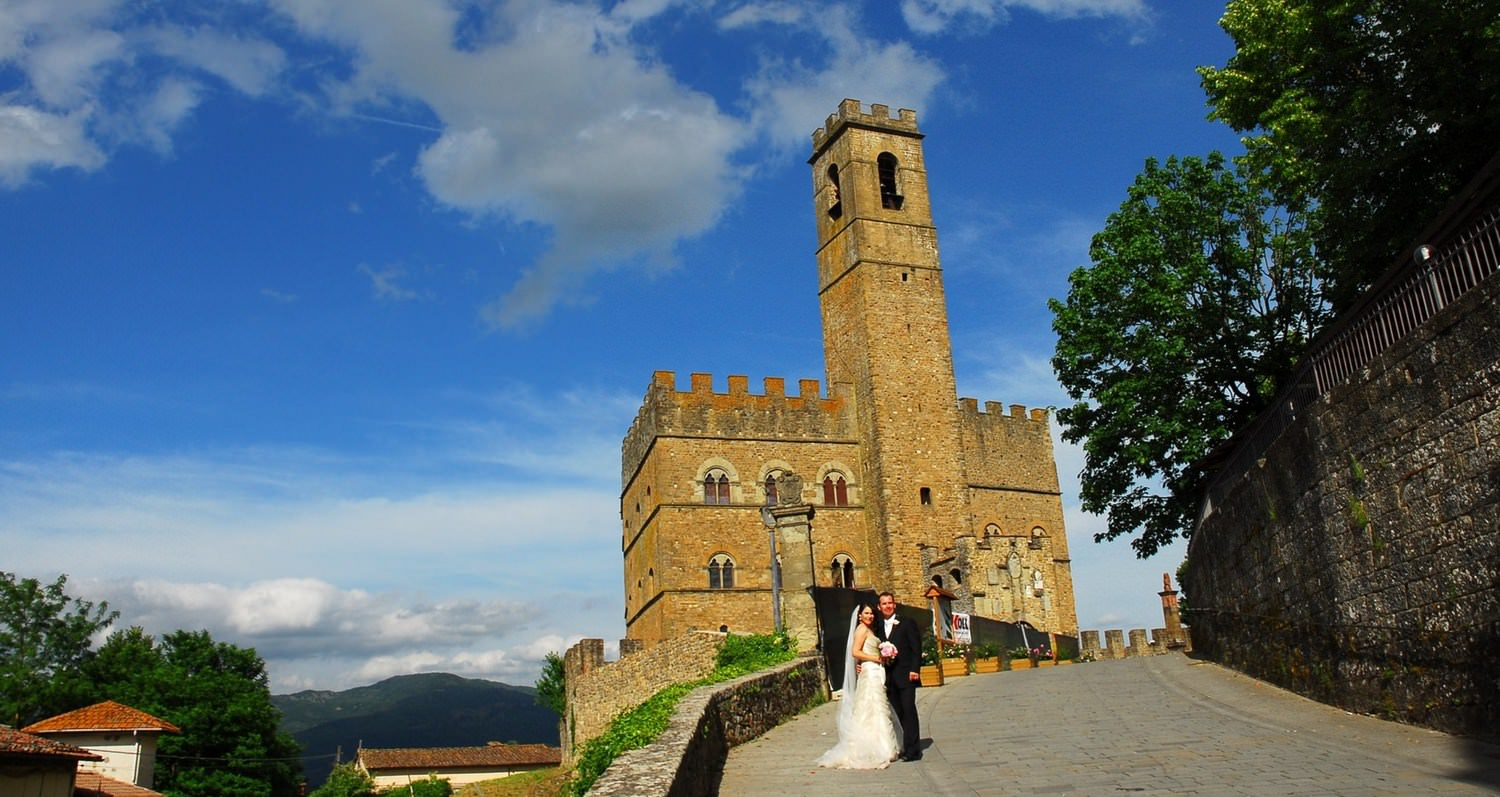 wedding castle arezzo
