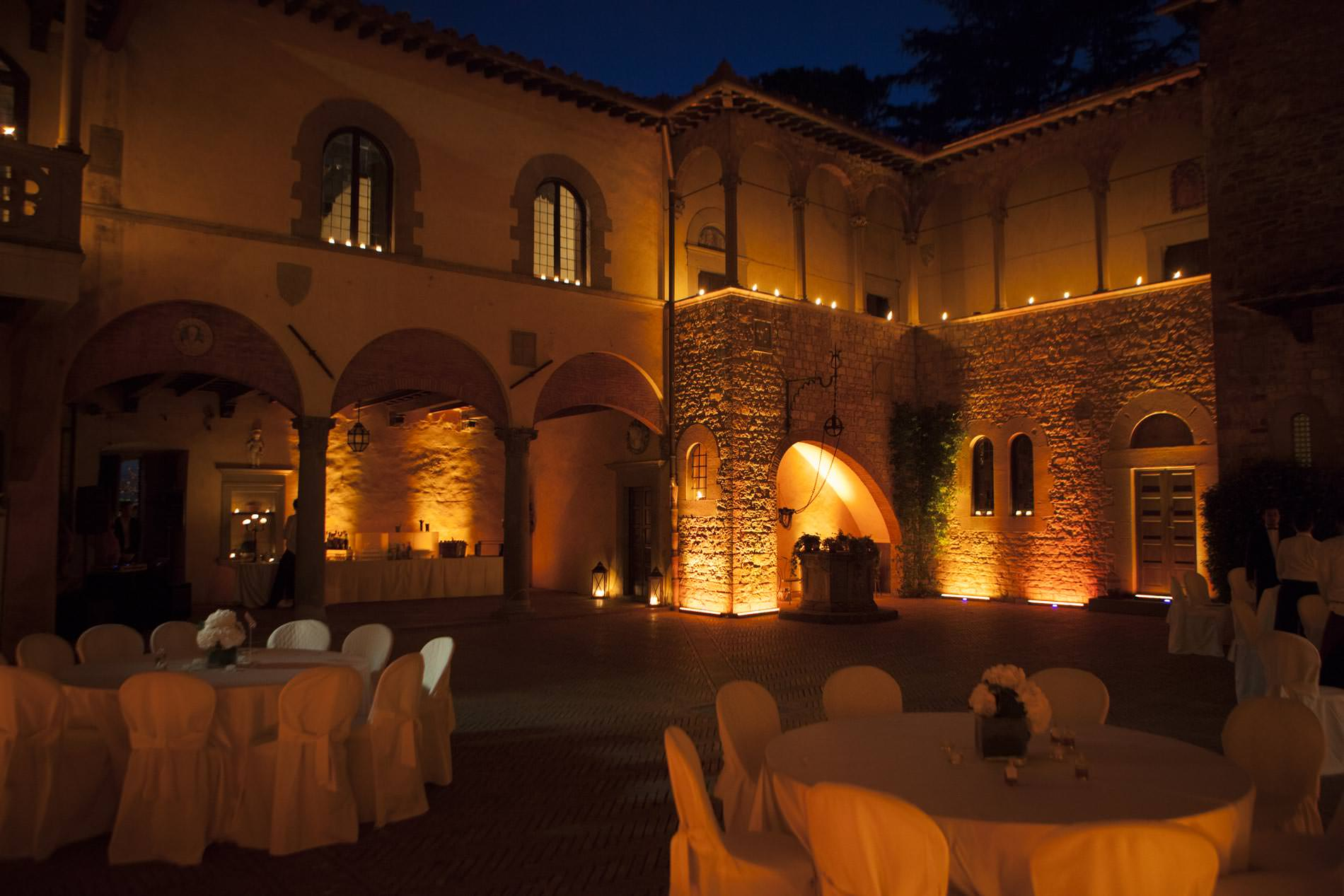 chianti wedding castle