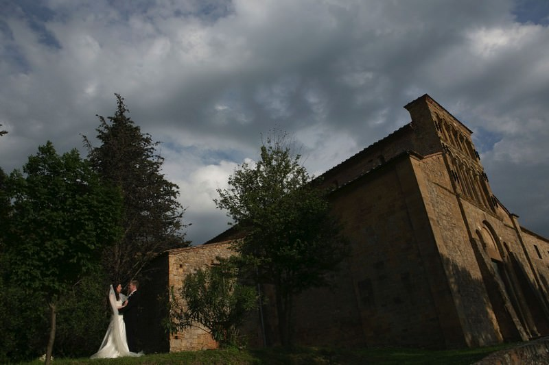 Church Wedding in Tuscany