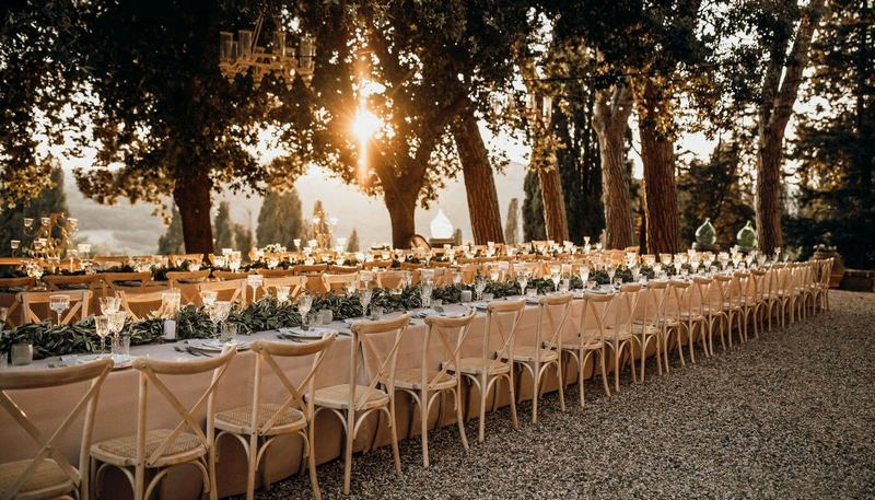 Weekend Wedding in Tuscany