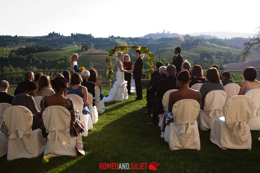 San Gimignano Villa Wedding Tuscany Villa Countryside