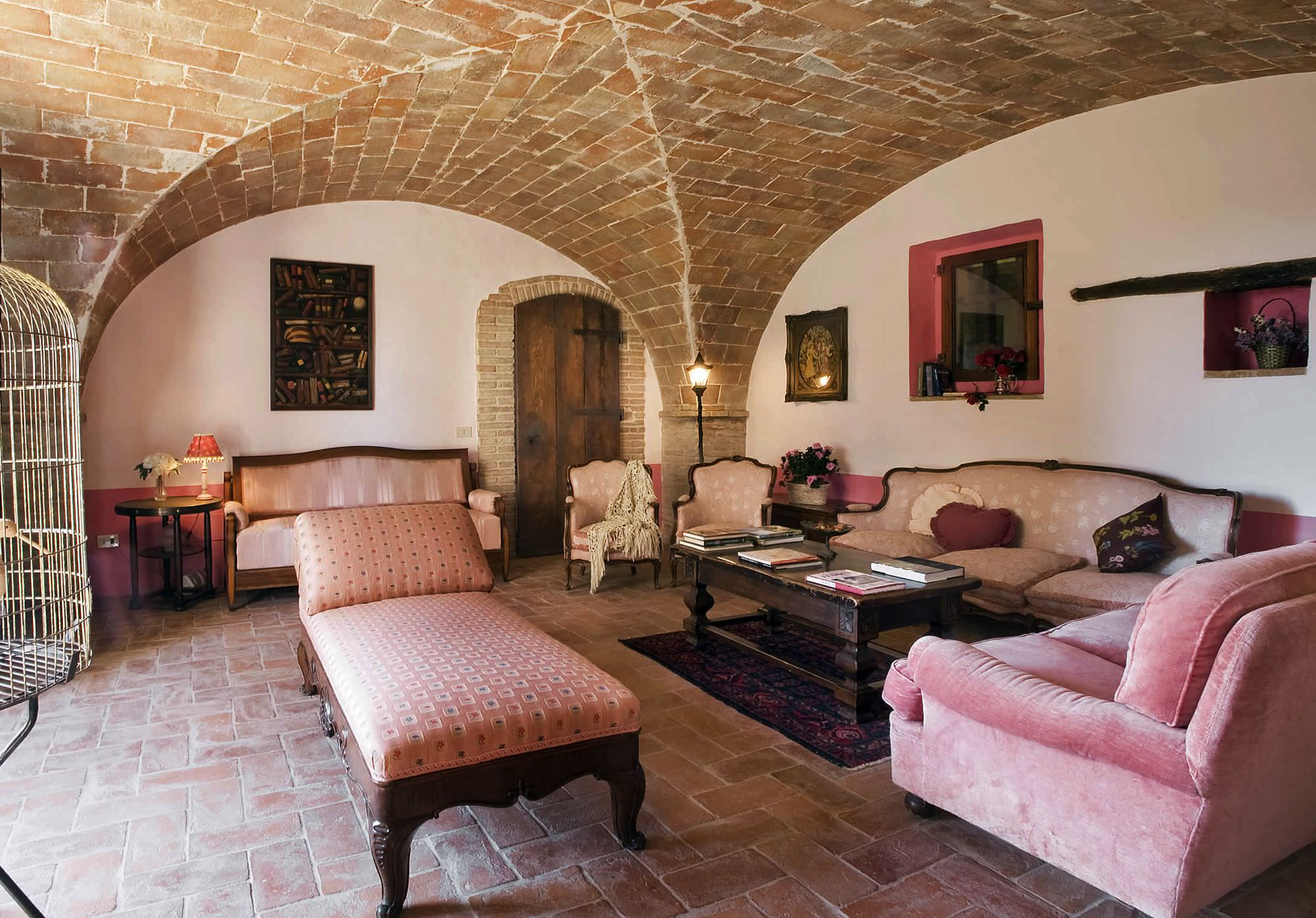villa amarone living room