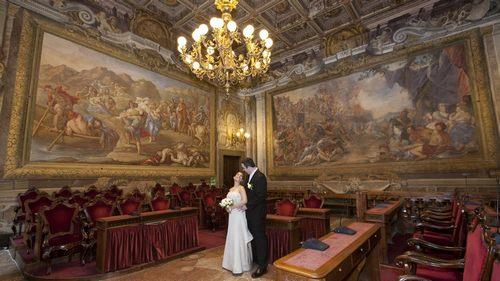 Pisa Civil Wedding