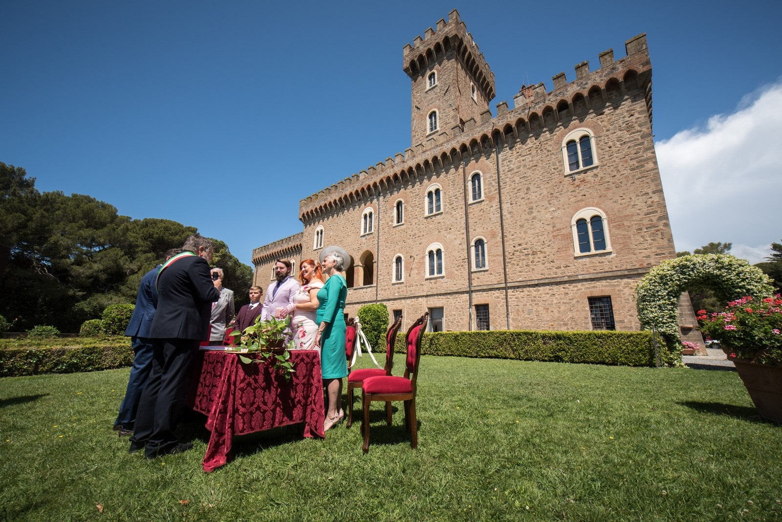 Castiglioncello Civil Weddings