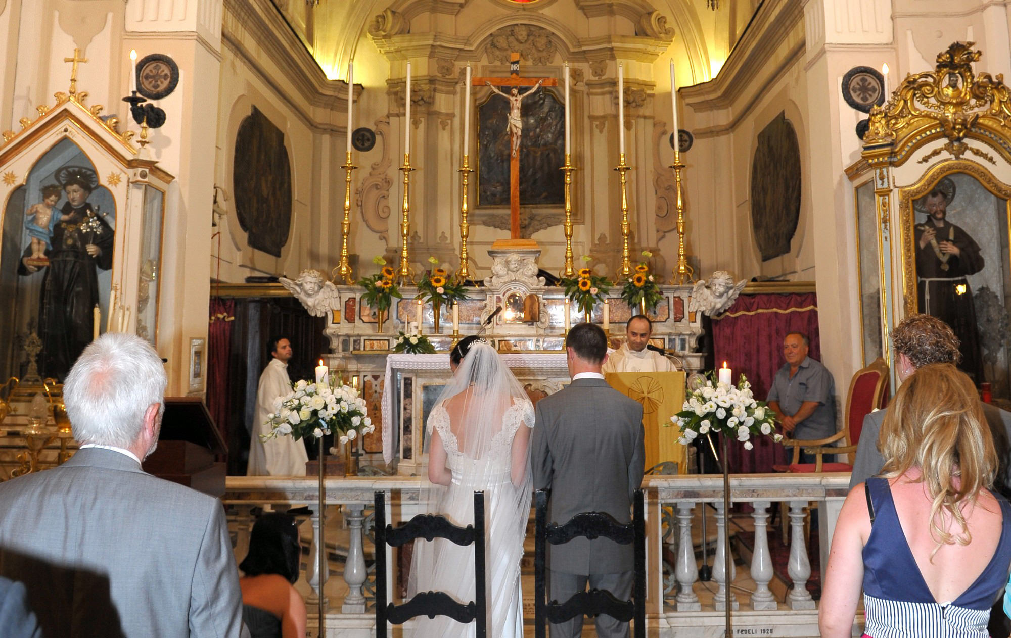 Amalfi Church Wedding
