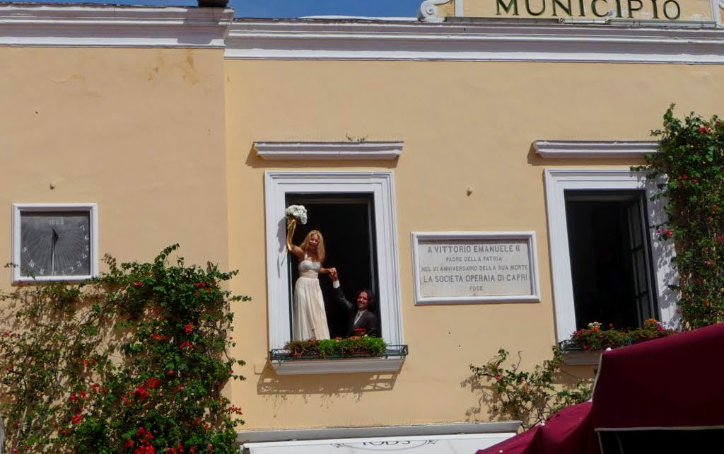 capri civil wedding