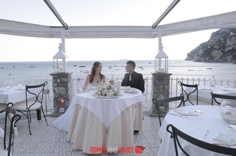Positano beach wedding positano amalfi coast italy for Beach wedding venues east coast