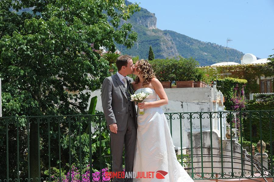 Civil Weddings In Positano