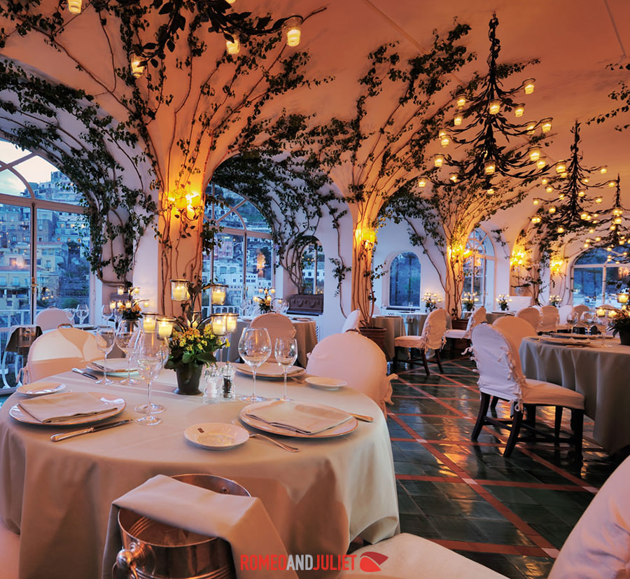 Hotel le sirenuse wedding positano amalfi coast for Best intimate wedding venues