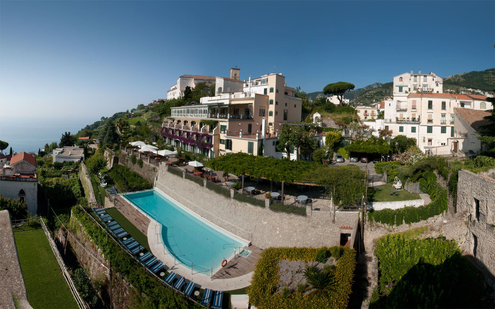 Ravello charming hotel ravello amalfi coast italy for Quaint hotel