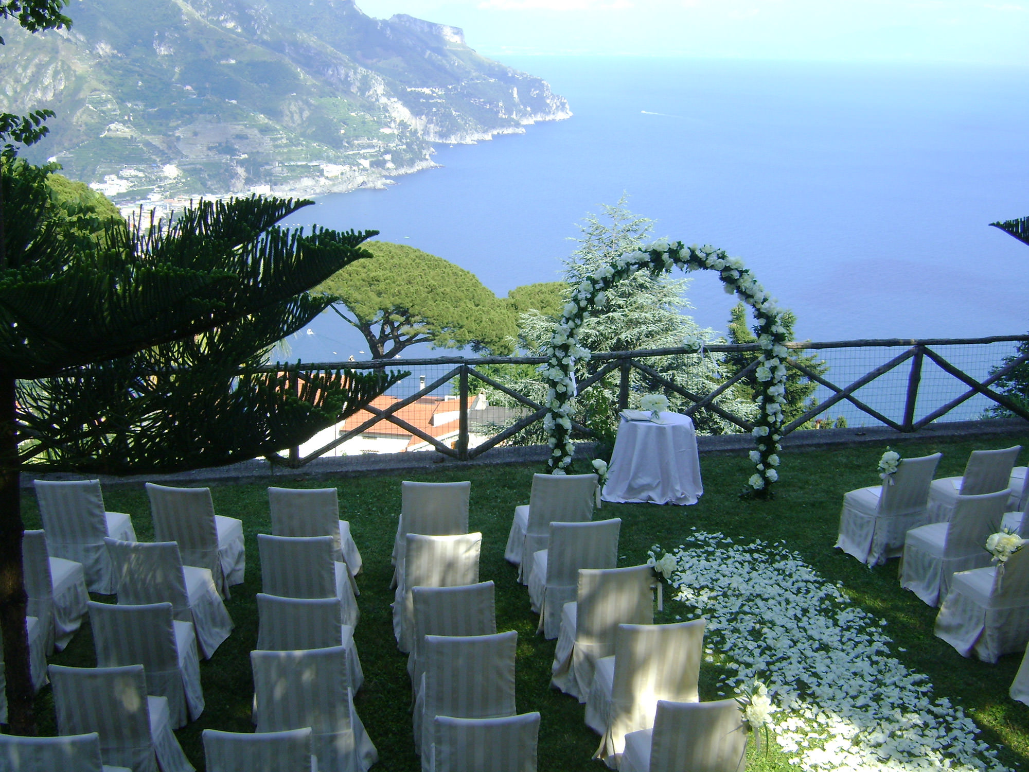 Hotel Wedding in Ravello