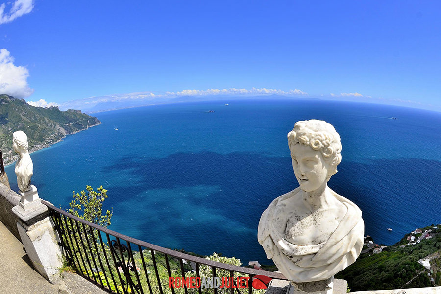 Villa cimbrone wedding ravello amalfi coast italy for Terrace of infinity