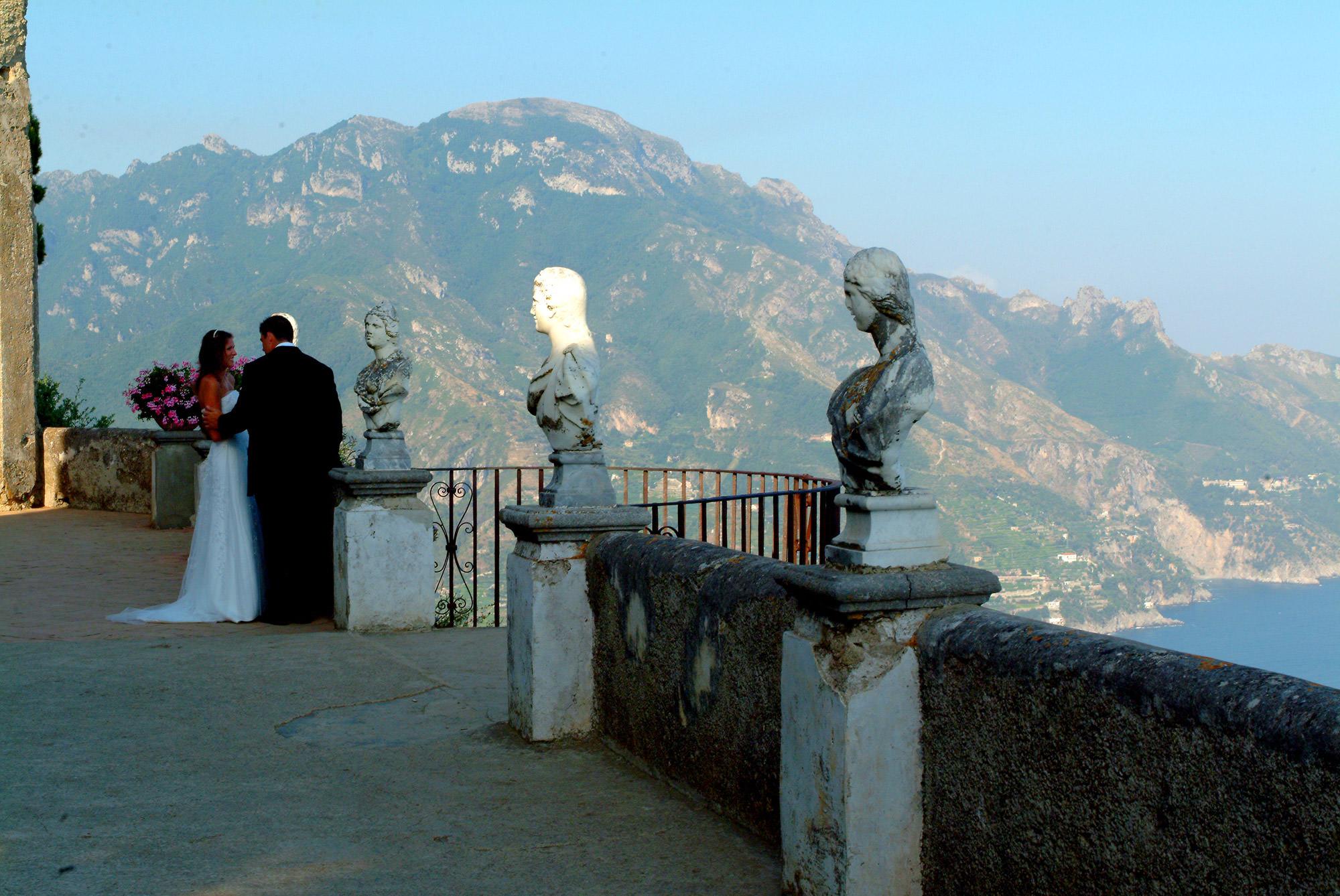 Villa Cimbrone wedding   Ravello   Amalfi Coast