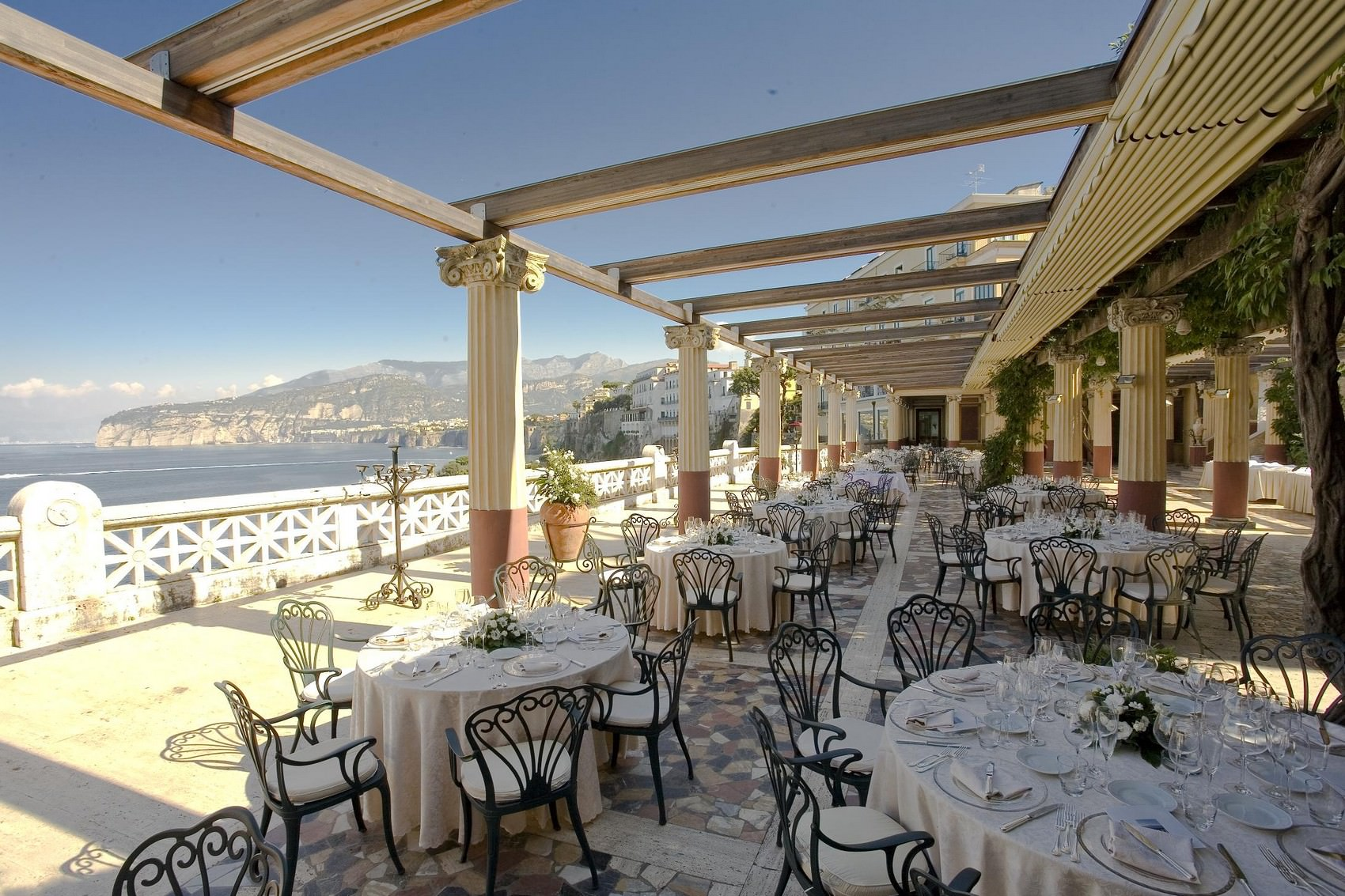 Bellevue Syrene Wedding Sorrento Amalfi Coast Italy Wedding