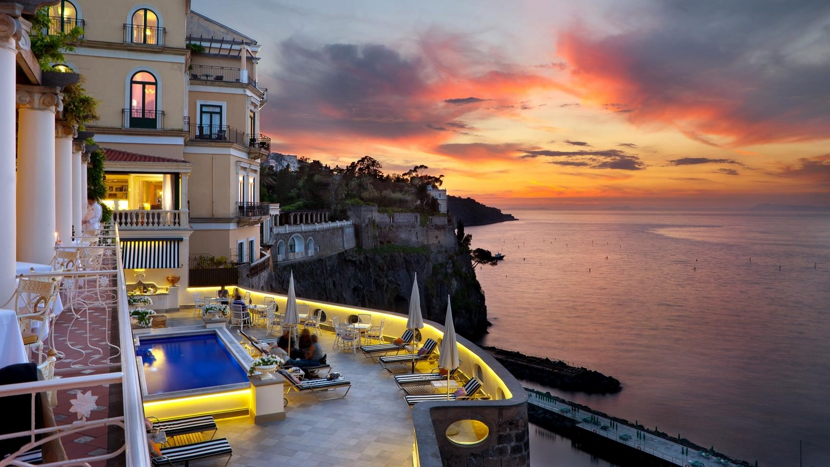 Bellevue syrene wedding sorrento amalfi coast italy for Luxury accommodation worldwide