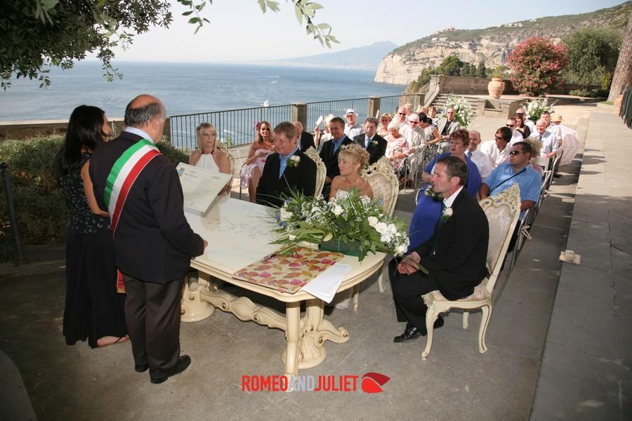 Villa Fondi Piano Di Sorrento Wedding Planner