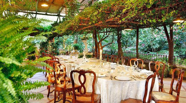 Garden Restaurant in Sorrento