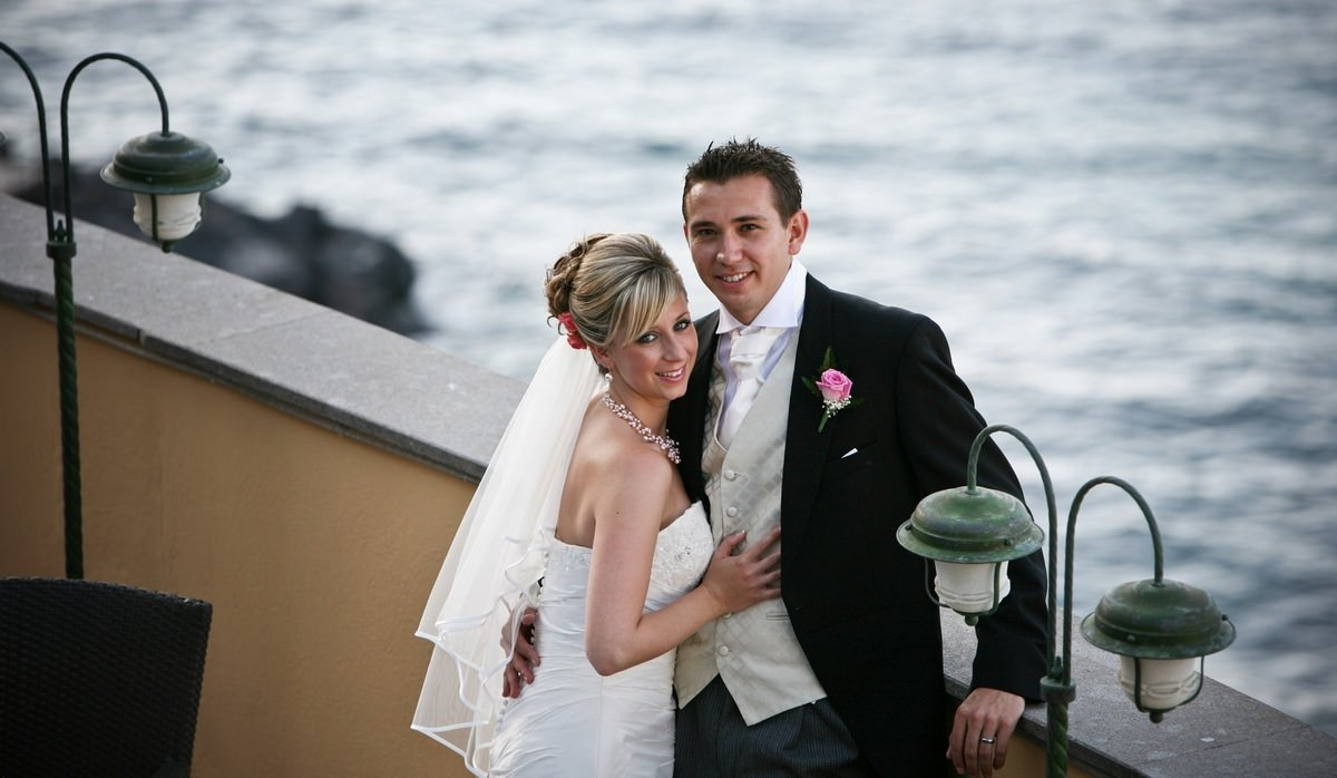 sorrento luxury wedding