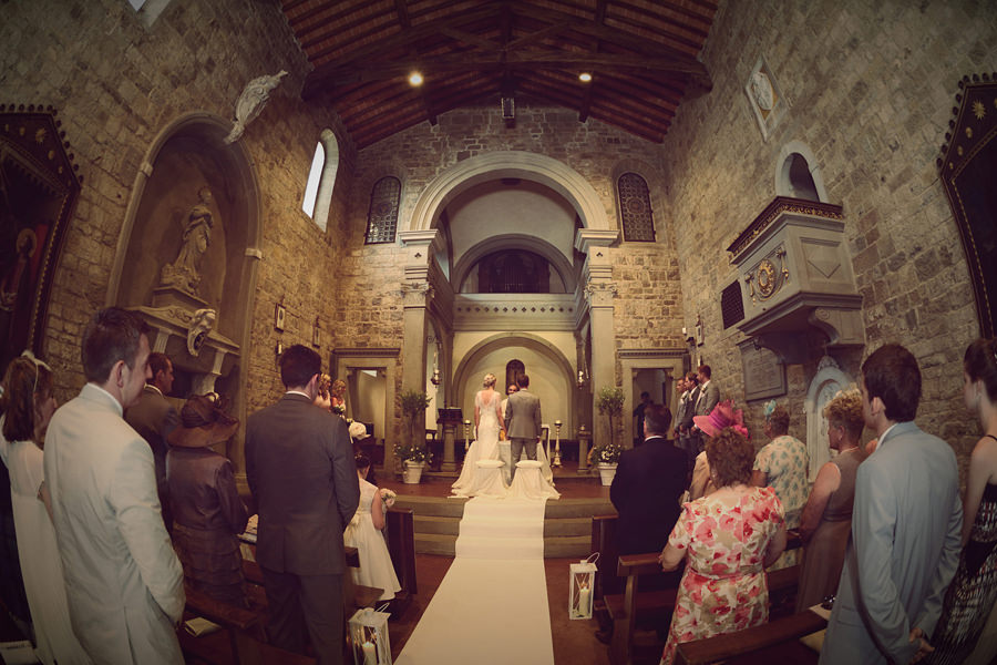Florence Church Wedding