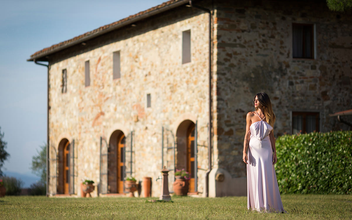 Country Chic Wedding in Florence