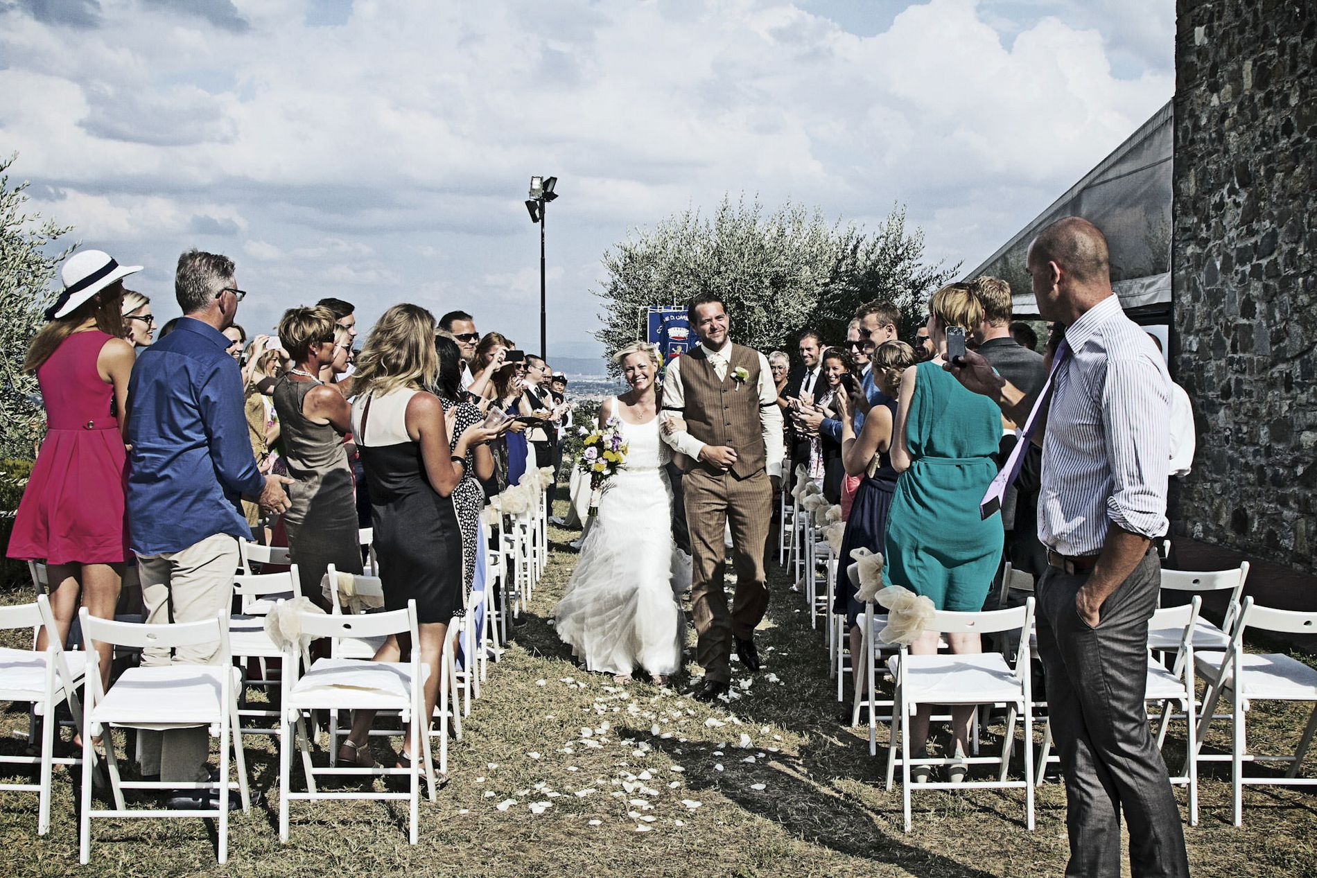 Country Chic Civil Wedding Florence