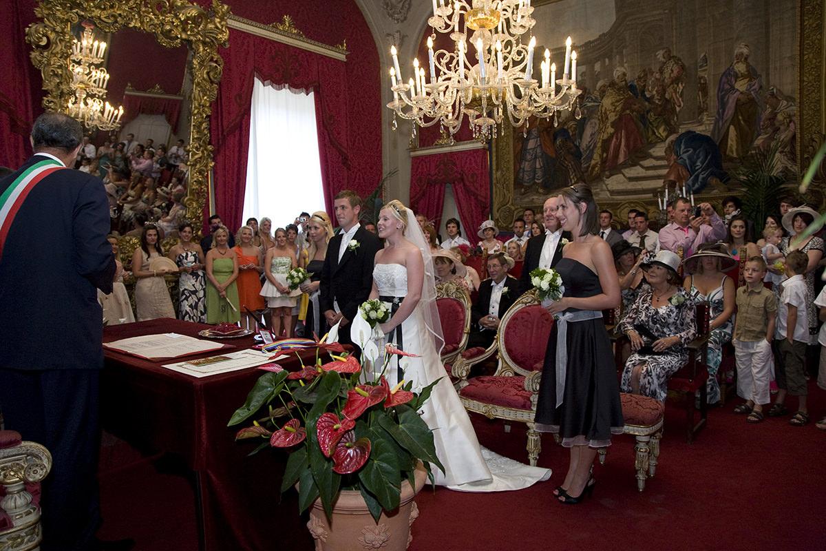 Sala Rossa Wedding