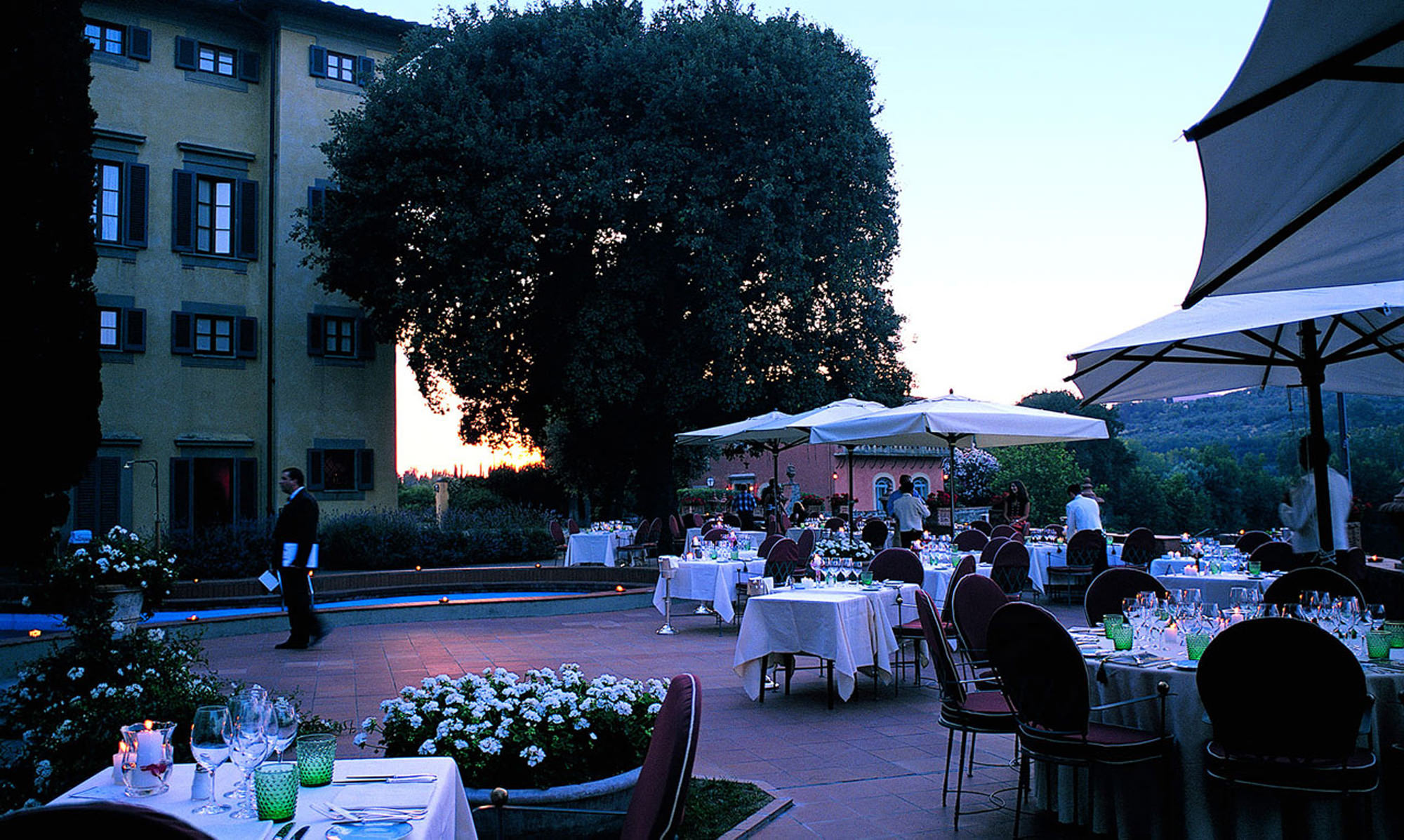 Villa La Massa Wedding Reception