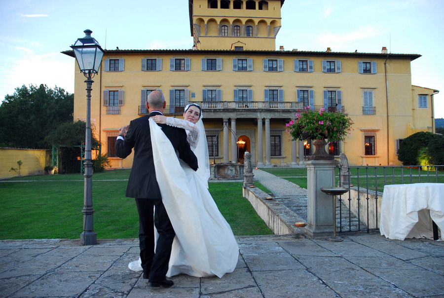 Villa Wedding in Florence