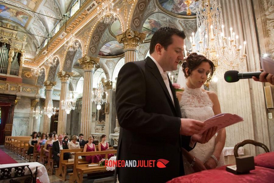 Catholic Weddings In Santa Margherita