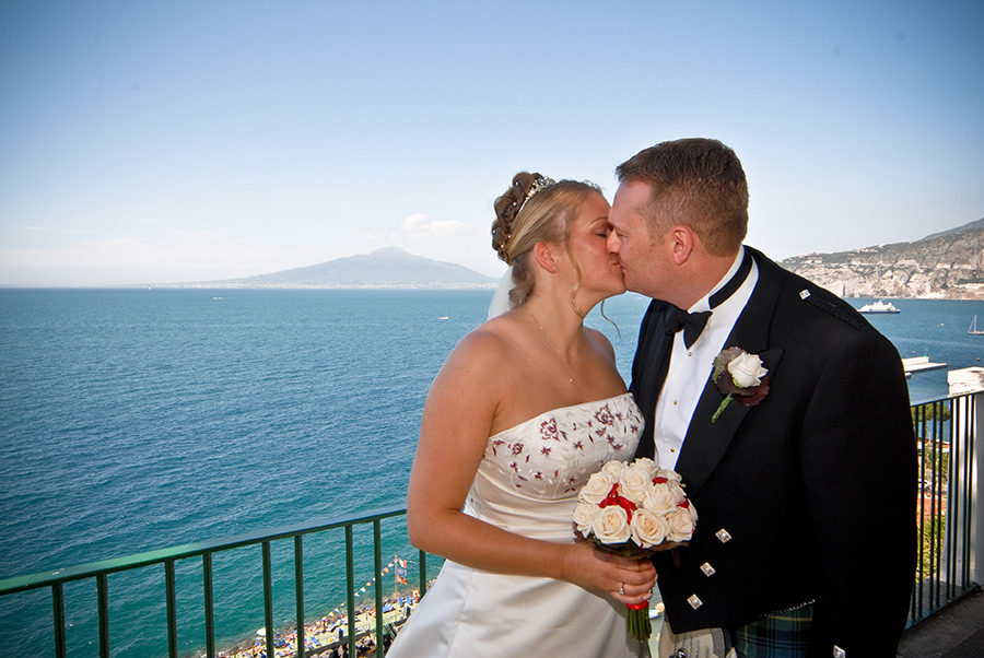 Caren and Barry Sorrento Wedding Review