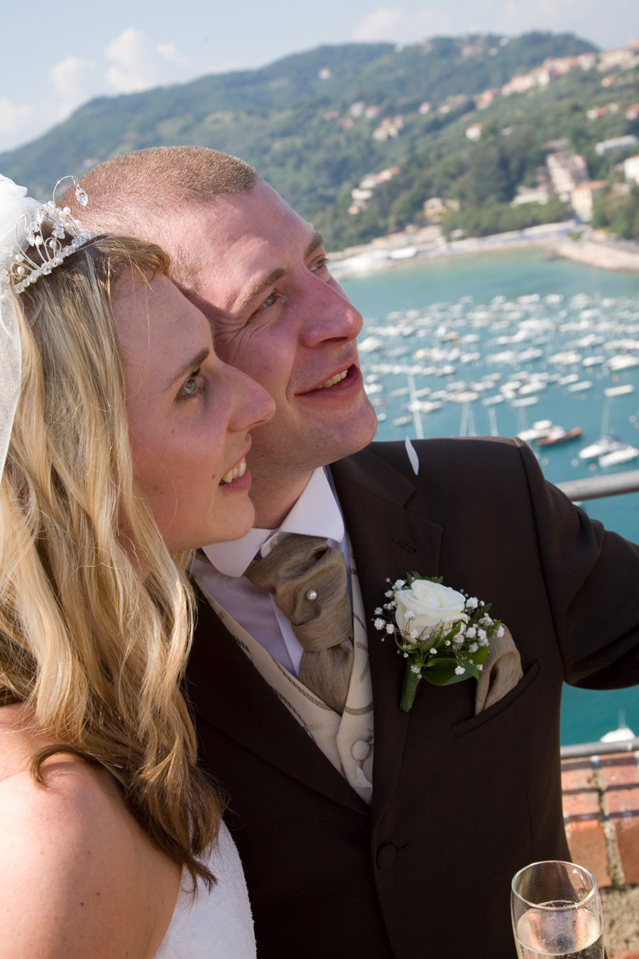 Linsay and Simon Lerici, Italian Riviera Wedding Review
