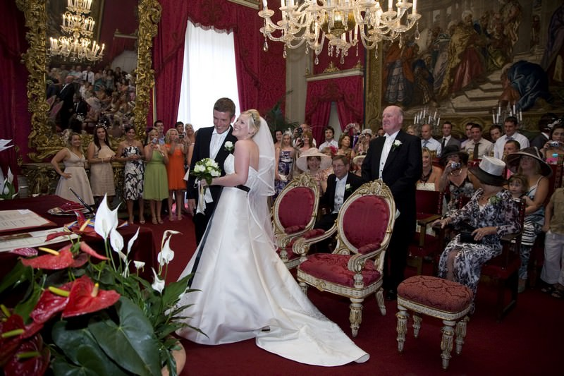 A Renaissance Florence Wedding in Sala Rossa