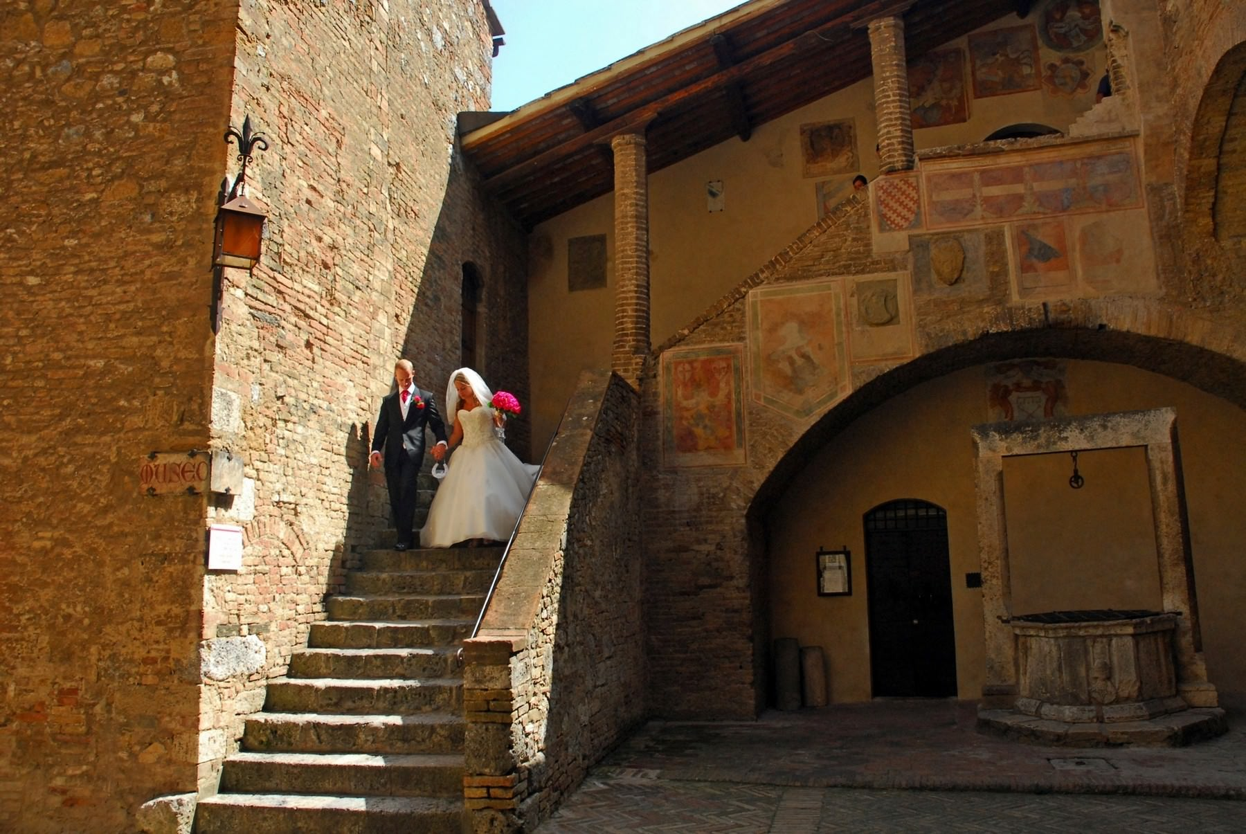 san gimignano wedding hall