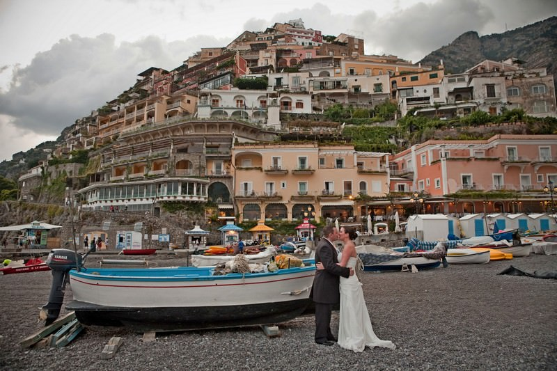 A Catholic Positano wedding