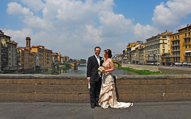 Eloping in Florence Italy
