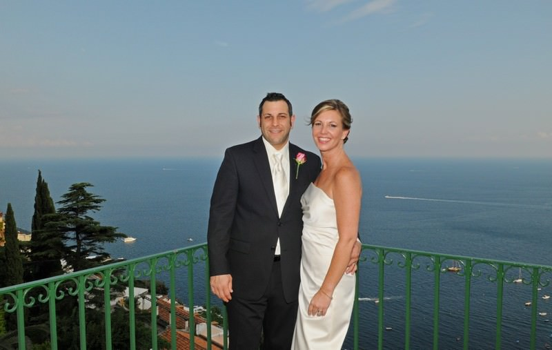 Eloping in Positano Italy