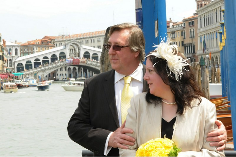 Loreen and Steve in Venice