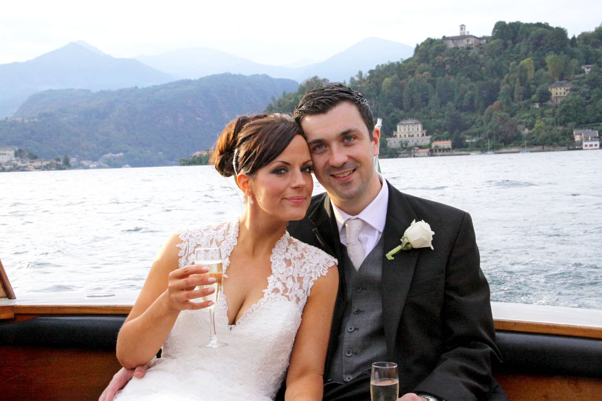 Getting married in Lake Orta