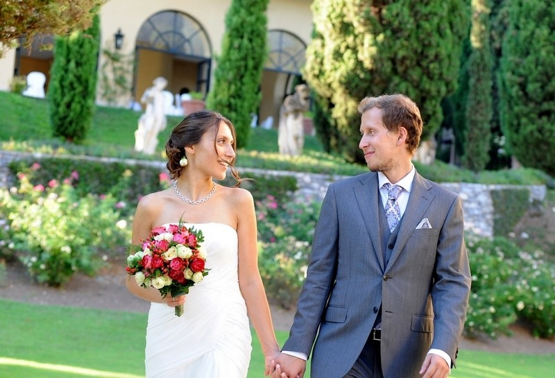 свадьба на Вилла Бальбьянелло
