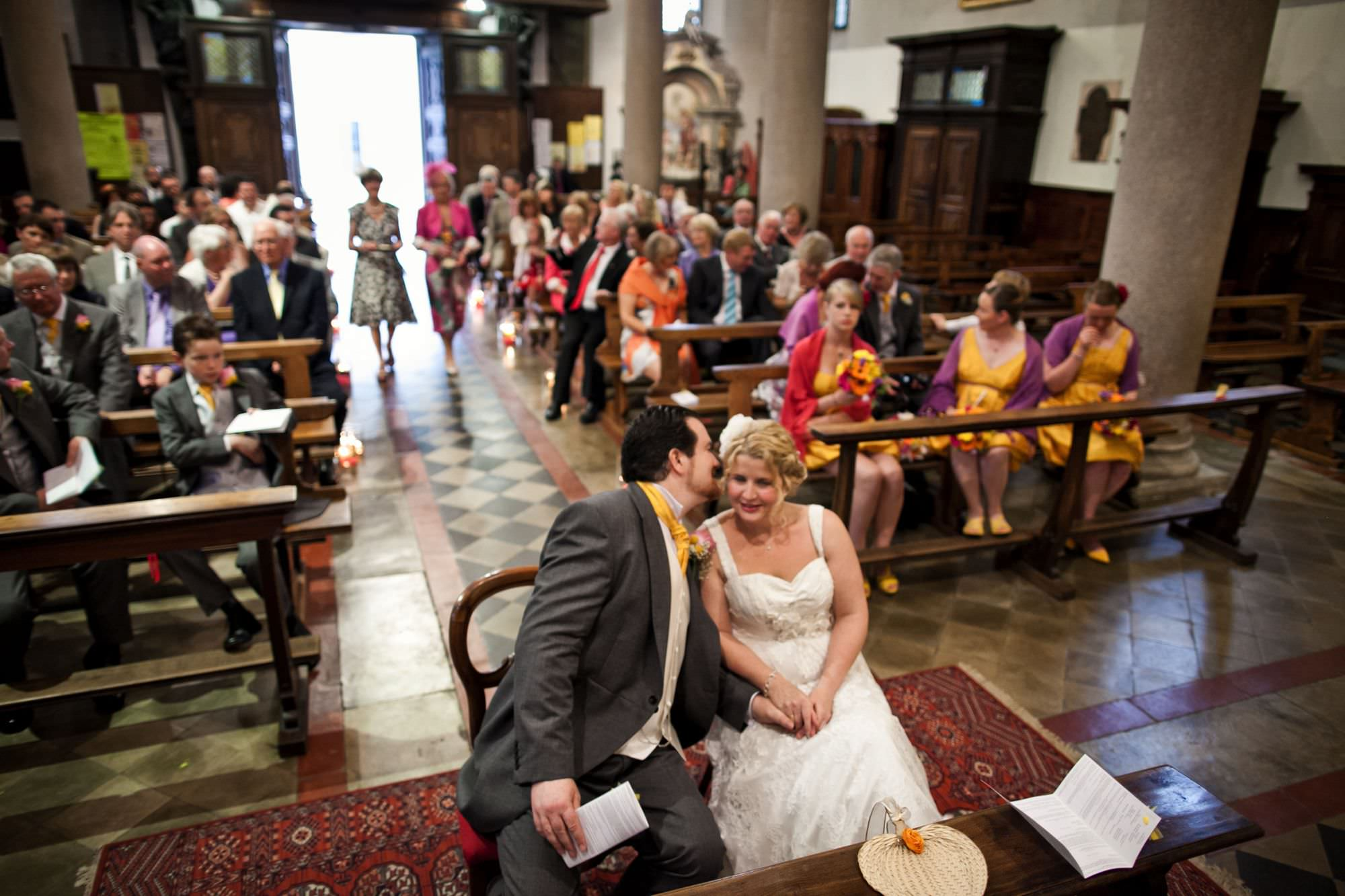 Lake Maggiore Church Wedding