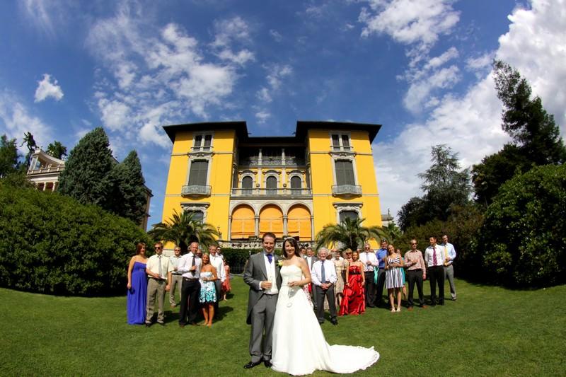Villa Wedding in Lake Maggiore