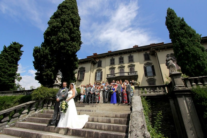 Villa San Remigio wedding