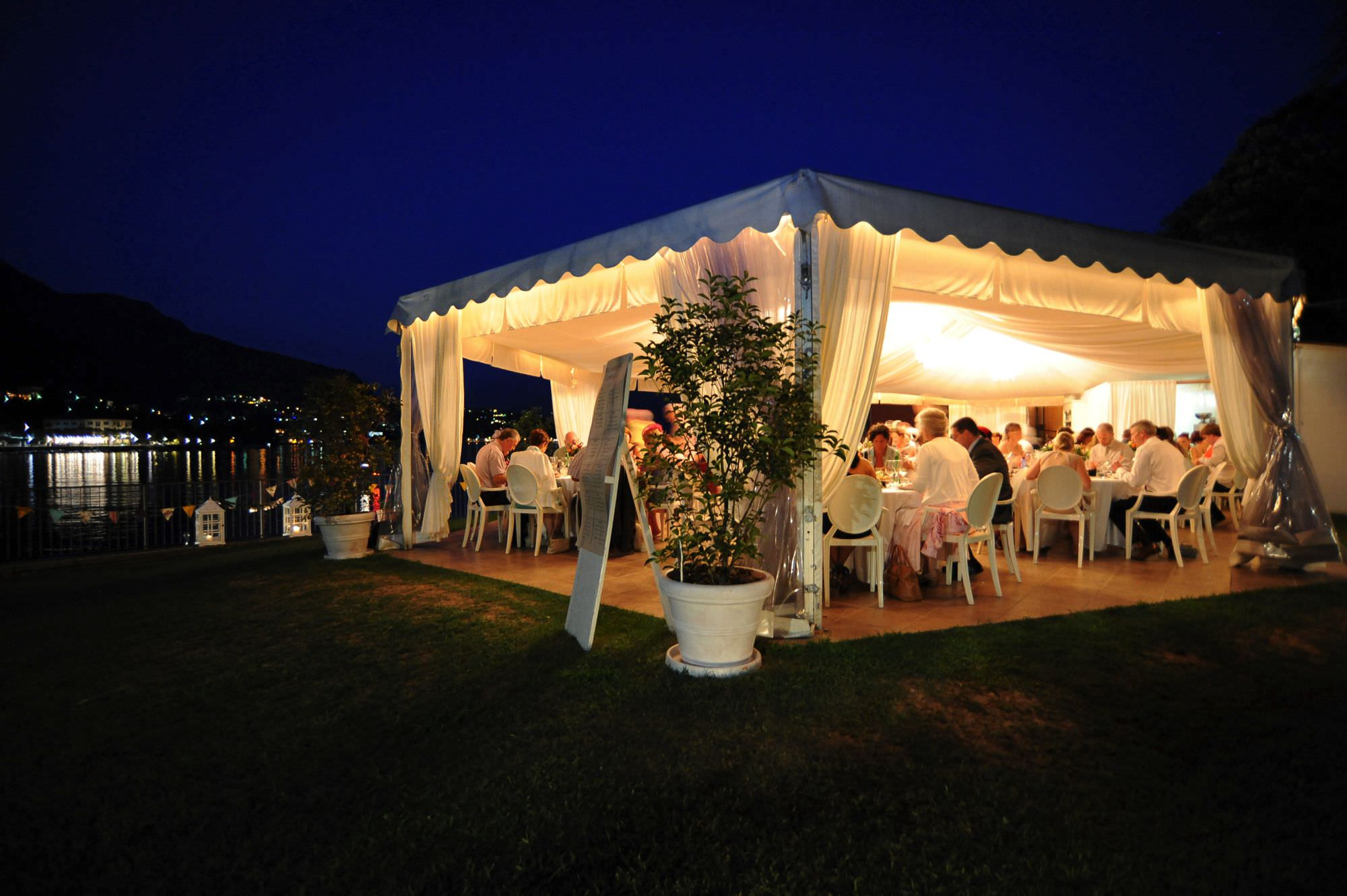 Lake Como Restaurants Weddings