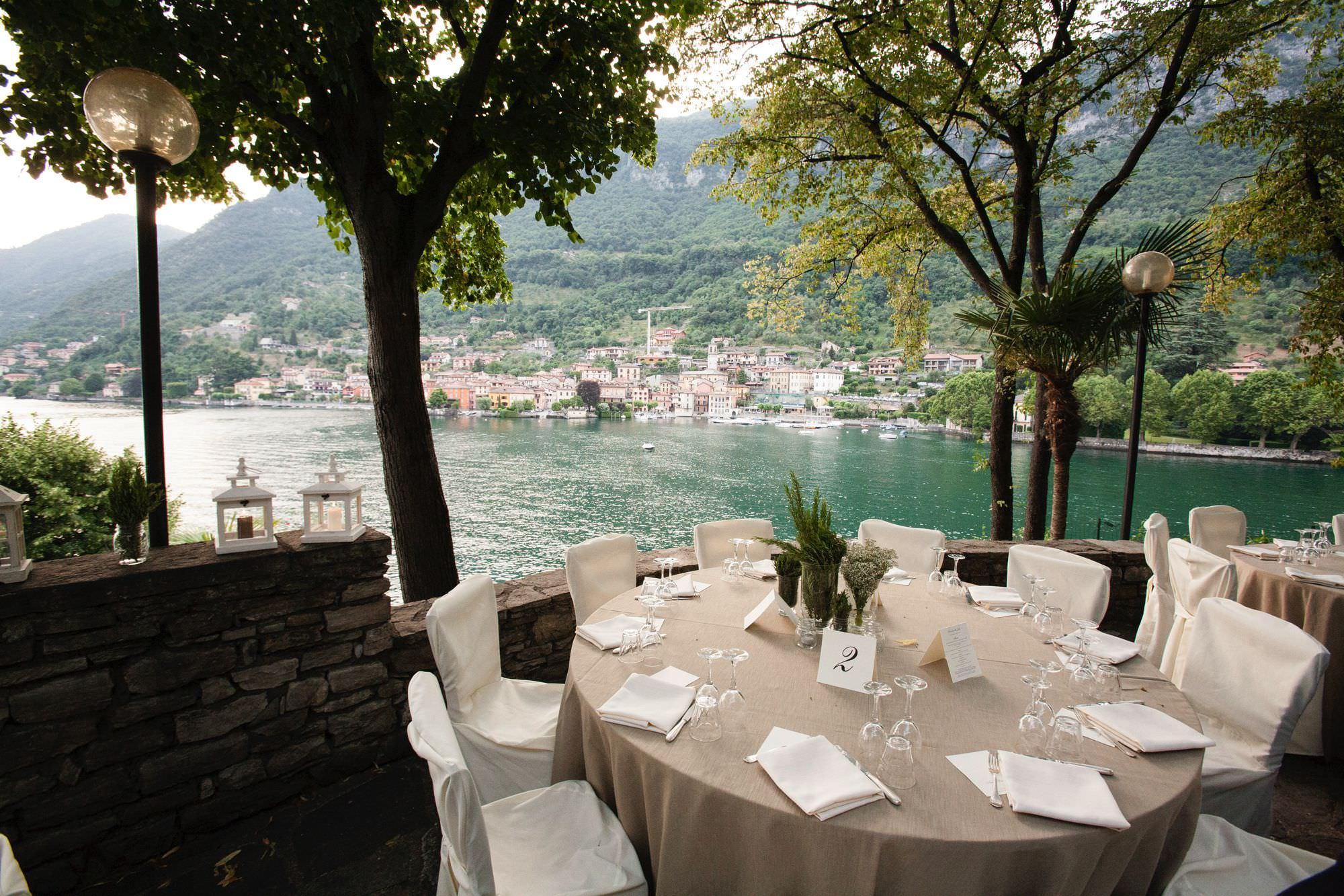 Wedding Restaurant Lake Como
