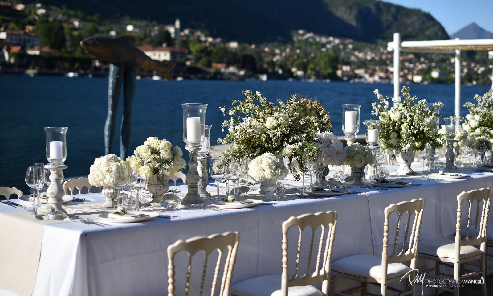 lake como beach weddings