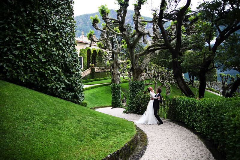 Villa Weddings in Lake Como