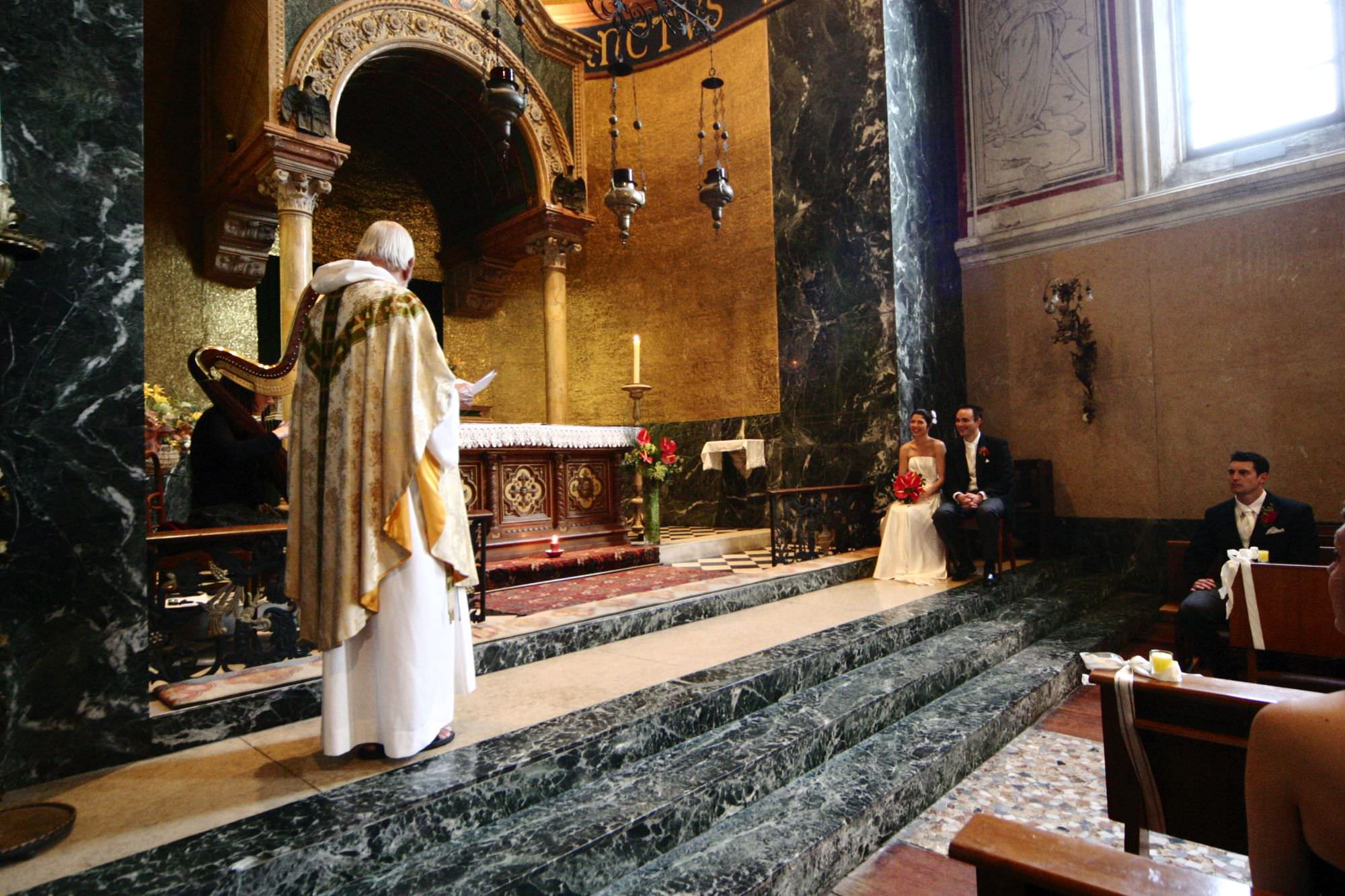 Church Wedding Lake Como