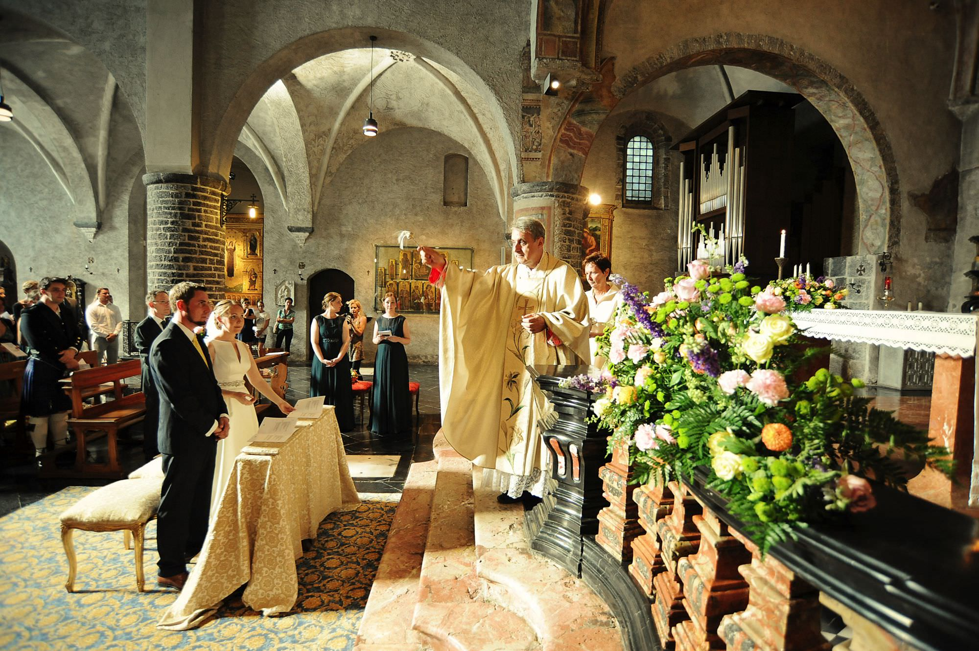 church wedding varenna