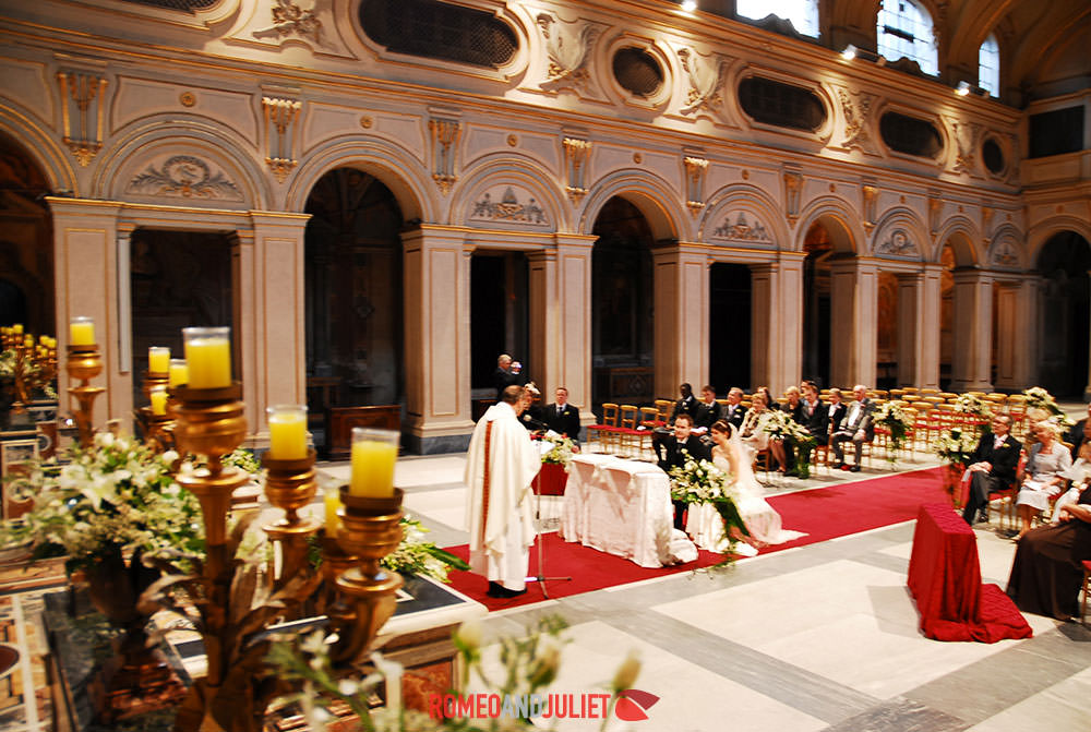 Medieval church rome church wedding rome italy wedding locations catholic church wedding rome junglespirit Image collections